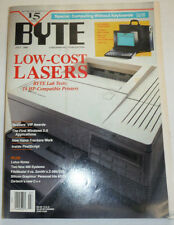 Byte Magazine Low-Cost Lasers July 1990 111314R