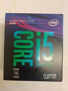 Intel BX80684I58600K Core i5 8600K 3.6 GHz LGA 1151 Hexa-Core Processor