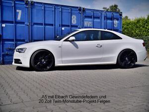 B8 Coupe Cabrio Sportback alle Black Edition Gewindefahrwerk Audi A5 S5