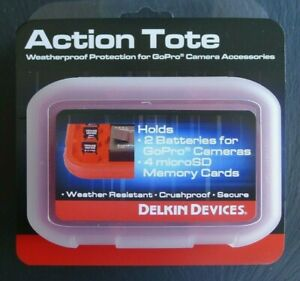 DELKIN  ACTION TOTE.  MEMORY CARD & BATTERY STORAGE