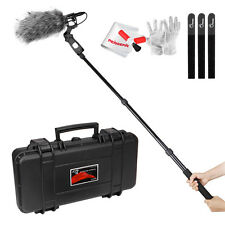 Aputure Deity Kit Shotgun Microphone +Pole Rod + Windshield +Clamp