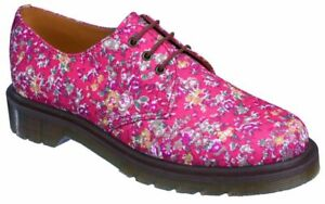 Dr Martens 3 Loch 1461 1461 Flowers Coral  10078801 Classic Doc