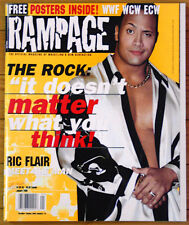 Rampage Magazine #2 - The Rock, Mankind, Ric Flair, The Dudleys  - Brand New!