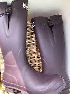 Barbour Bede Wellington Boots Uk 8