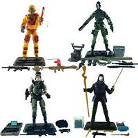 4x GI JOE Figures Blowtorch + JUNGLE B.A.T + GENERAL HAWK + COBRA COMMANDER