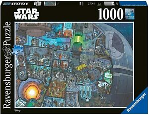 Ravensburger - Star Wars Where's Wookie Jigsaw Puzzle (1000 Pieces)