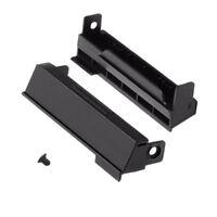 2Pcs HDD Hard Drive Caddy Cover & Screws For DELL LATITUDE E4310 Sata Laptop