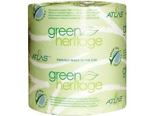 Atlas Paper Mills 125GREEN Green Heritage Bathroom Tissue, 1-Ply, 1000 Sheets, W