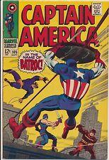 Captain America #105 Marvel Comics 1968, Batroc, Swordsman & Laser [A]