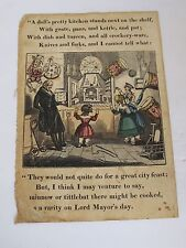 Antique Dean & Son's ad for Children's Books and Toys 1850's