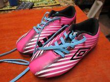 Umbro Girls Arturo 2.0 Pink Soccer Shoes Size 9k