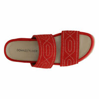 Donald J Pliner Women's Cait Slide Sandal Retail $168  - Red