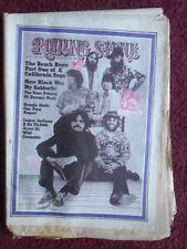 Rolling Stone Music Magazine #94 Oct 28, 1971 ~ The Beach Boys BLACK SABBATH