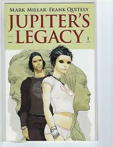 Jupiter's Legacy #1 A & B Covers/TWO COMIC BOOKS/Image Comics Netflix show