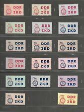 DDR Dienstmarken Satz 1964 16-30 postfrisch mi. 400,00 €.