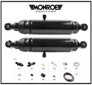 2 Shock Absorbers Kit MONROE Rear Chrysler DODGE Plymouth Classic Adjustable
