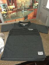 CONVERSE DARK GRAY YOUTH POLO SIZE MED 10-12YRS FREE SHIPPING!