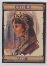 1989 re-Ed Bible Cards Esther #3 Vashti Non-Sports Card 0q3