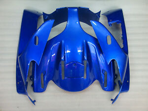 Front Cowl Upper Nose Fairing Compatible Fit For YAMAHA FJR1300 2001-2005 Blue