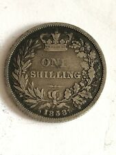 great britain One Shilling 1858