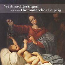 Weihnachtsingen - mit dem Thomaner Chor Leipzig    CD NEU OVP