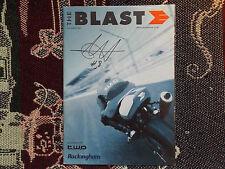 2001 ROCKINGHAM PROGRAMME 19/8/01 - THE BLAST - SIGNED BY CHRIS WALKER