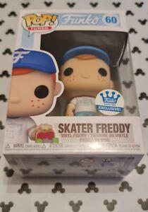 Funko Pop Freddy Funko Skater Freddy 60 Shop Exclusive Limited Vinyl Figure