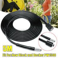 5M Hochdruckreiniger Schlauch Rohrreinigungsschlauch Für Black & Decker