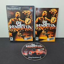 Def Jam Vendetta (Sony PlayStation 2, 2003) PS2 Complete CIB Tested Black Label