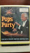 New - Unopened - 4 - Pops Party 8 Track - Arthur Fiedler & The Boston Pops Tape