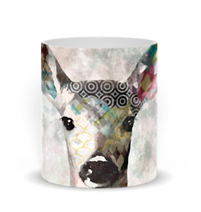 Coffee Mug, Deer art Drinkware Deer 18 11oz or 15oz digital art by L.Dumas