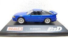 1/72 Real-X Initial D NISSAN SILEIGHTY Silvia 180sx MAKO SATO diecast car model