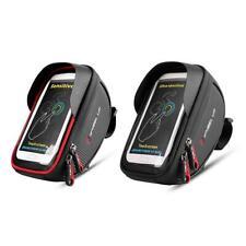 WHEEL UP Waterproof MTB Mountain Bike Frame Front Bag Pannier Bike Phone Holder