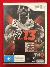 Nintendo Wii WWE 13