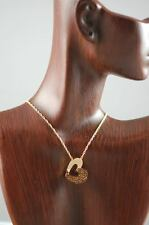 Cremation Gold Plated Heart Pendant  Urn Necklace Jewelry  WITH CHAIN