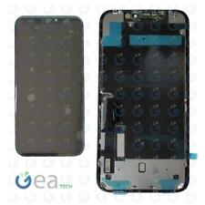 Display LCD TFT Per APPLE iPhone 11 Touch Screen Con Piastra Metallica Nero