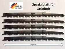 8 x Sägeblatt Tigersäge Säbelsäge Säbelsägeblätter Grünholz Holz Metall Alu Ni