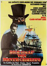 Orig.-Filmplakat Graf von Monte Christo|Comte de Monte-Cristo 1961 Louis Jourdan