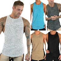 Mens Gym Sports Sleeveless Vest Tank Tops Muscle Summer Casual Slim Fit T-Shirt