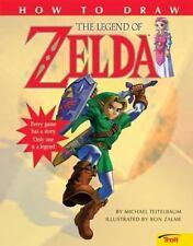 How to Draw the Legend of Zelda, Teitelbaum, Michael, Good Book