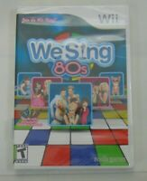 Wii We sing 80's Video Game New Nordic Games Rated T 30 Classic tracks + Video's