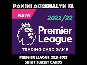 PANINI PREMIER LEAGUE ADRENALYN XL 2021-2022 2021/22 SHINY SUBSET CARDS
