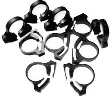 "Hose Clamps-Nylon Black (10) 1-13/32""- 1-5/8""(36-41mm) #92"