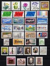 33021 BRD Bund  Jahrgang 1980  postfrisch komplett Mi.-Nr.: 1033 - 1067