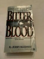 1989 Bitter Blood by Jerry Bledsoe Onyx Paperback