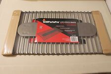 "Brinkmann 812-7240-S2 Grill Parts Pro Lava Rock Grate 11"" x 22.3"" Durable Steel"