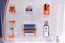 GREENLIGHT MUSCLE SHOP TOOL MULTIPACK GULF PETROLEUM 13153 1:64 NEW
