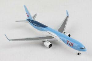 HE534246 HERPA WINGS TUI AIRLINES BELGIUM BOEING 767-300 1/500 DIE-CAST MODEL