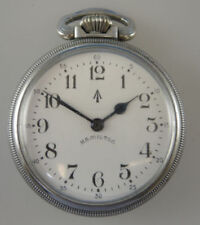 Open Face Military Pocket Watches