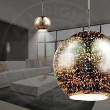 Mia a26520n Suspensions rétro style en forme de boule en verre en cuivré (E)